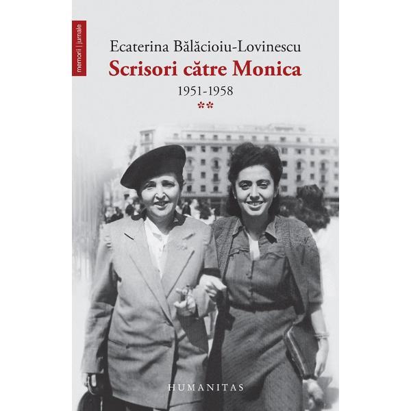 O mam&259; îi scrie aproape zilnic fiicei sale pe care nu &351;tie dac&259; o va mai întâlni vreodat&259; Suntem în România în deceniul cel mai cumplit al comunismului în anii '50 ai secolului trecut Asist&259;m la stricarea din temelii a vechii lumi la teroare mizerie umilire Scrisorile îi sunt adresate Monic&259;i Lovinescu la ParisCe sunt în fond aceste paginibr