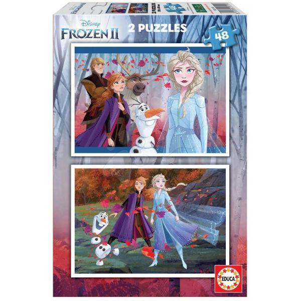 Puzzle Frozen 22 puzzle-uri a cate 48 piese