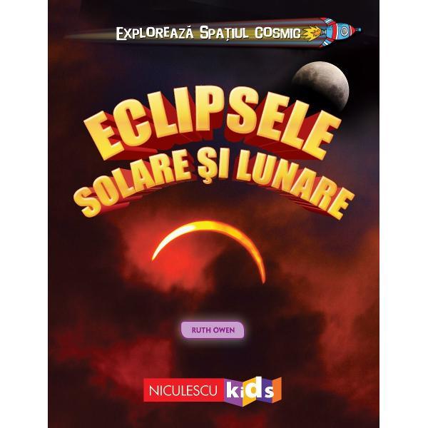Oamenii au fost fascina&539;i dintotdeauna de eclipse De-a lungul timpului aceste fenomene astronomice i-au înfrico&537;at &537;i încântat deopotriv&259; dar i-au &537;i provocat s&259; dezlege misterul lor• CÂTE TIPURI DE ECLIPSE EXIST&258;• PO&538;I CALCULA CÂND VA AVEA LOC O ECLIPS&258;• ÎN TIMPUL ECLIPSEI LUNA M&258;NÂNC&258; SOARELE• UNDE DISPARE LUNA CÂND ESTE O