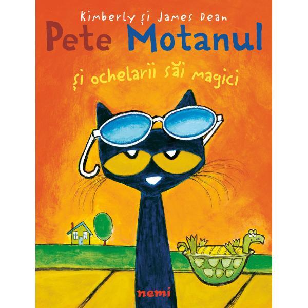 De data aceasta Pete Motanul se treze&537;te pu&539;in moroc&259;nos – parc&259; nimic nu-i merge bine Ins&259; datorit&259; unor ochelari de soare minuna&539;i i&537;i d&259; seama c&259; voia bun&259; s-a aflat dintotdeauna în sufletul lui Admiratorii lui Pete vor fi foarte încanta&539;i de optimismul lui cu ajutorul c&259;ruia transform&259; o zi posomorât&259; într-una magnific&259;