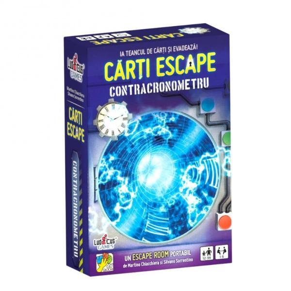 Jocul Contracronometru este un Escape Room portabil pentru un grup de prieteni dar pe care îl po&539;i juca &537;i singurDocturoul Thymp v&259; pune inteligen&539;a la încercare ve&539;i face fa&539;&259; provoc&259;rii În timp ce doctorul v&259; explic&259; proiectul s&259;u apas&259; din gre&537;eal&259; pe un buton ce declan&537;eaz&259; o alarm&259; C&259;ile de ie&537;ire se blocheaz&259; sigilând laboratorul Doctorul