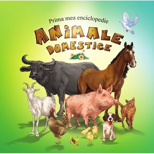 Prima mea enciclopedie- animale domestice îi va introduce pe cei mici în lumea animalelor din jurul casei Vor descoperi care este talia unei g&259;ini cu ce se hr&259;nesc iepura&351;ii ce foloase avem de pe urma calului &351;i multe altele Vocabularul de la final vine ca o completare a întregii enciclopedii &351;i explic&259; unele cuvinte întâlnite de-a lungul celor 48 de pagini  span background-color font-size stylecolor rgb51