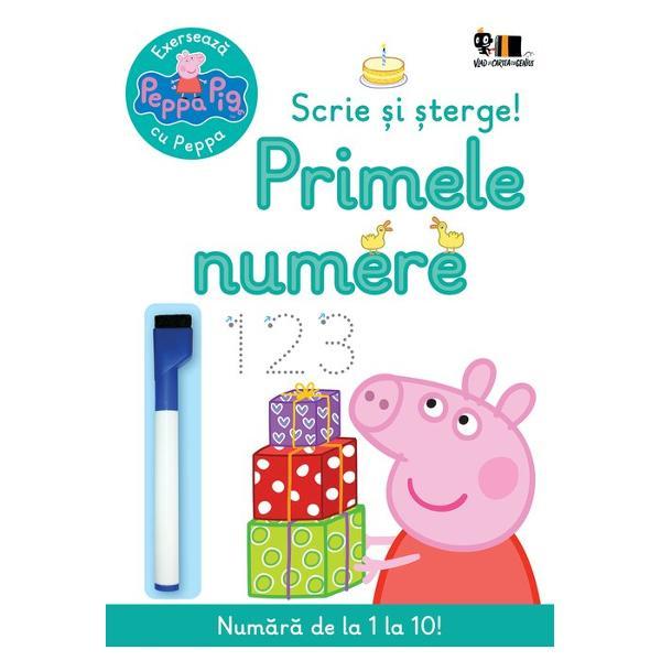 Peppa înva&539;&259; s&259; numere Vrei s&259; încerci si tuScrie cifrele cu creionul special apoi &537;terge &537;i încearc&259; din nouCuvinte cheie cifre numere exerci&539;ii interactivitateNu se recomand&259; copiilor mai mici de 3 ani Pericol de sufocare; con&539;ine p&259;r&539;i mici Culorile nu sunt lavabile a&537;adar v&259; recomand&259;m s&259; evita&539;i folosirea în apropierea