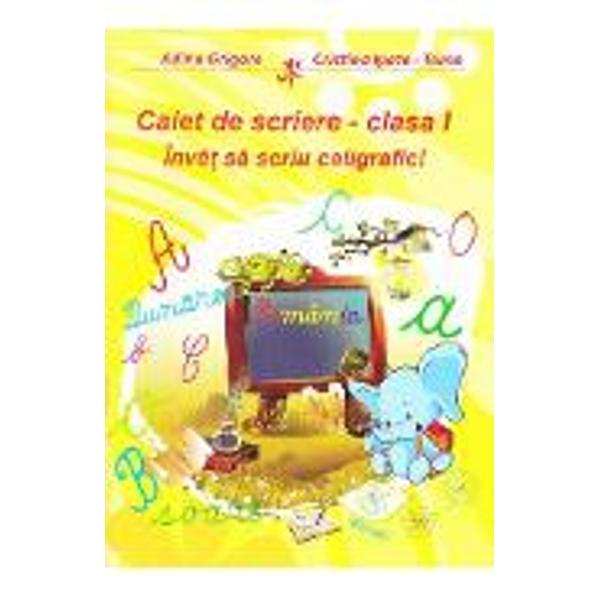 Caiet de scriere clasa I
