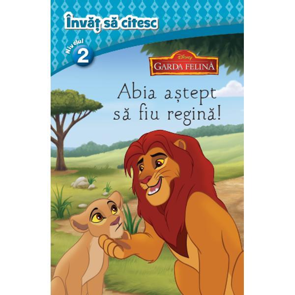 Disney Invat sa citesc Garda felina Abia astept sa fiu regina nivelul 2