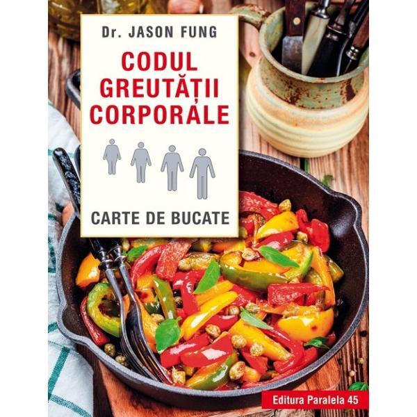 Dr Jason Fung este un expert mondial &238;n obezitate &351;i post terapeutic &206;n cartea sa revolu&539;ionar&259; Codul greut&259;&355;ii corporale ne invit&259; s&259; ne lu&259;m s&259;n&259;tatea &238;n propriile m&226;ini &537;i s&259; reg&226;ndim modul de a ne alimenta printr&8209;un demers &238;n cinci etape simple de exemplu reducerea consumului de zah&259;r &537;i practicarea postului intermitent esen&539;ial&259; pentru lupta &238;mpotriva