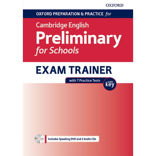 An exam preparation title for teachers looking to prepare students for the Cambridge English B1 Preliminary for Schools exam in conjunction with a main course book Through its combination of systematic training activities and practice tests students will be well prepared and can sit the exam with confidenceThis Students Book Pack contains the resources your students need to achieve success in the Cambridge English B1 Preliminary for Schools exam including seven practice
