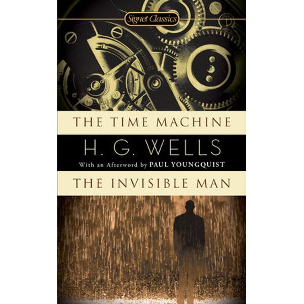 Two masterpieces of irony and imaginative vision from the father of science fictionTogether in one indispensable volume The Time Machine and The Invisible Man are masterpieces of irony and imaginative vision from H G Wells the father of science fictionThe Time Machine conveys the Time Traveller into the distant future and an extraordinary world There stranded on a slowly dying Earth he discovers two bizarre races the effete Eloi and the subterranean Morlocks—a