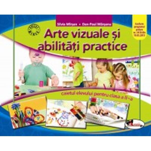 Arte vizuale si abilitati caiet clasa a II a