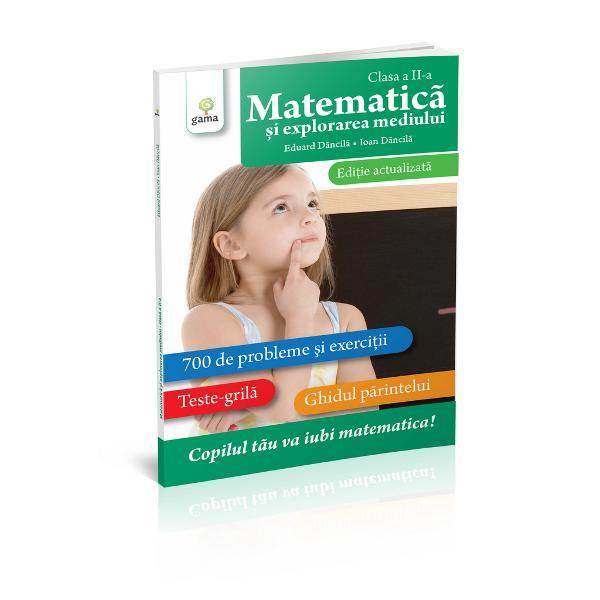 """Lucrarea reprezint&259; o metod&259; practic&259; modern&259; &351;i actual&259; care-l va ajuta pe copil s&259; iubeasc&259; &351;i s&259; lucreze cu pasiune matematica Volumul con&539;ine 700 de exerci&355;ii &351;i probleme concepute cu grij&259; &351;i atent selectate de autori &537;i este înso&539;it de teste-gril&259; &537;i de un """"Ghid al p&259;rintelui"""" deta&537;abil în care sunt oferite solu&539;ii"""