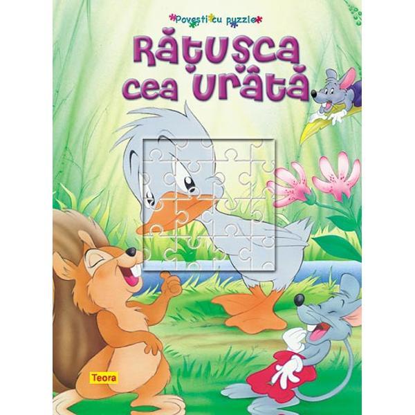 Ratusca cea urata cu puzzle -6790