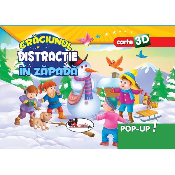 Craciunul Distractie in zapada - Pop Up