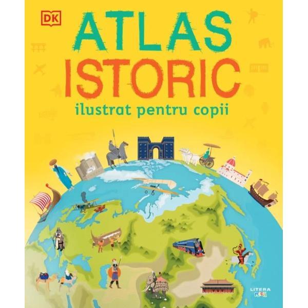 Str&259;bate globul cu acest atlas încânt&259;tor în care g&259;se&537;ti date captivante &537;i o incredibil&259; desf&259;&537;urare a istoriei lumii de la primii oameni care au p&259;r&259;sit Africa pân&259; la realiz&259;rile zilelor noastre Acest atlas bogat ilustrat î&539;i va aduce acas&259; pe în&539;elesul t&259;u o fascinant&259; lume a istoriei