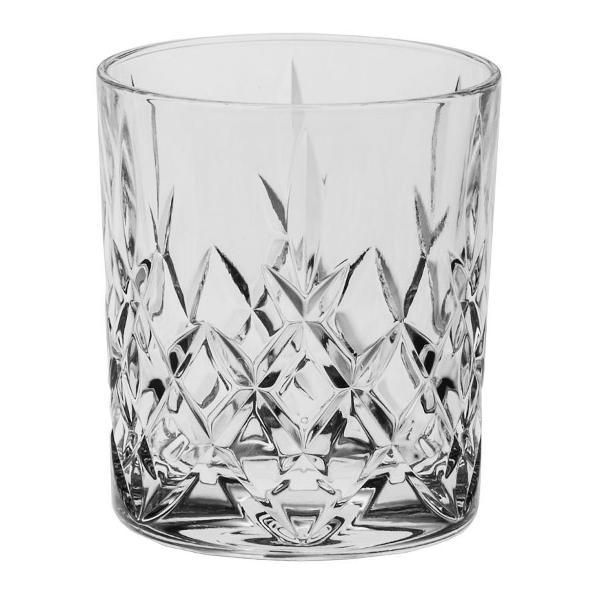 Set 6 pahare whisky 320 ml Cristal Bohemia model Brixton Este ambalat intr-o cutie de cadou ce contine elemente de protectie pentru transport in siguranta