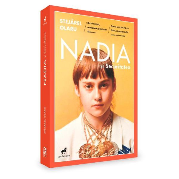 """În 1976 la Jocurile Olimpice de la Montreal Nadia a devenit simbolul perfec&539;iunii în gimnastic&259; Din admira&539;ie despre ea s-au scris scenarii de filme artistice &537;i documentare biografii romane &537;i chiar c&259;r&539;i pentru copii Dar despre Nadia devenit&259; parte a avu&539;iei na&539;ionale a României socialiste se mai scria în penumbr&259; iar """"admiratorii"""" s&259;i care adunau material documentar pentru un roman"""