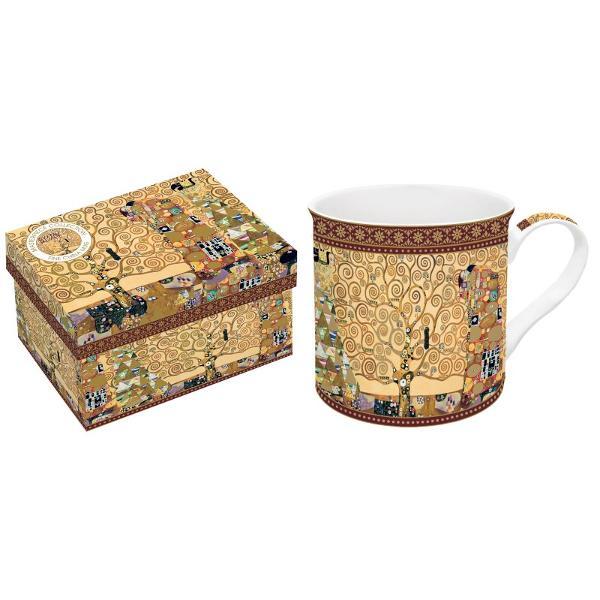Cana portelan 0300l Klimt pomul vietii R0170KLI2