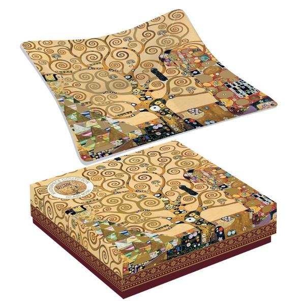Bol Klimt pomul vietii 13x13cm R0634KLI2
