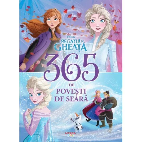 Tr&259;ie&537;te magia din Arendelle împreun&259; cu Anna Elsa &537;i toate personajele tale preferate dinRegatul de ghea&355;&259;&537;iRegatul de ghea&355;&259; 2În aceast&259; carte Olaf &537;i Kristoff duc la bun sfâr&537;it o îndr&259;znea&355;&259; misiune de salvare Sven se ascunde prin castel ca s&259; scape de ora b&259;ii Elsa &537;i Anna c&259;l&259;toresc spre un regat îndep&259;rtat