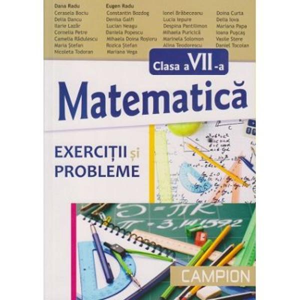 Matematica exercitii si probleme clasa a VII-a