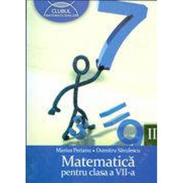 Culegere matematica clasa a VII a sem II