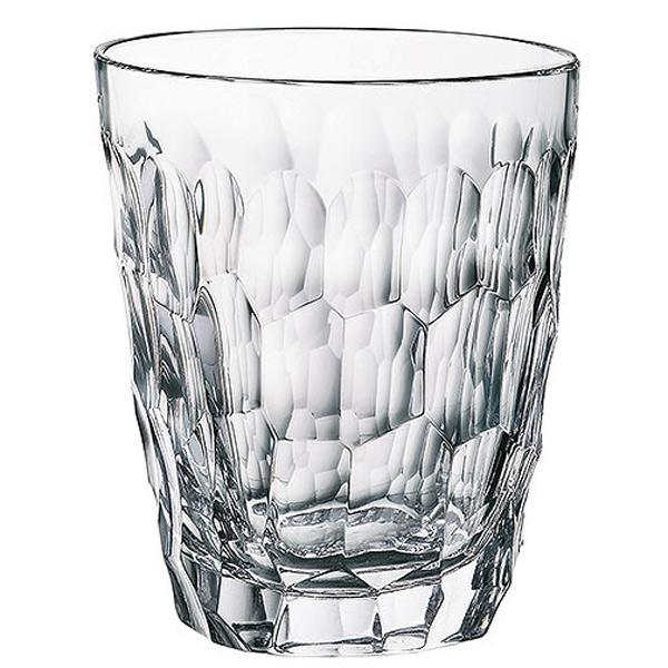 Set 6 pahare Whisky Marble Bohemia 290ml din Sticla Cristalina cu TitaniumDimensiuni 9x9x105cmCutie de cadou inclusa
