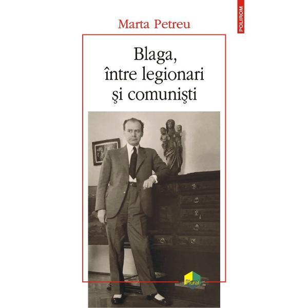 Marta Petreu cerceteaz&259; zvonurile care au circulat &537;i circul&259; înc&259; în mediul românesc uneori &537;i în cel interna&539;ional despre orientarea politic&259; extremist&259; – legionar&259; apoi &537;i comunist&259; – a lui Lucian Blaga Poet dramaturg &537;i filosof Blaga este cel mai complex autor din cultura româneasc&259; a secolului XX Zvonul despre legionarismul lui este cu atît mai surprinz&259;tor cu