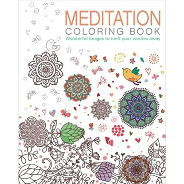 Coloring is a useful relaxation technique which helps you enter a freer state of beingThe Meditation Coloring Bookcontains a mass of mandalas and other abstract images to soothe the mind and please the senses It is designed to take you to that peaceful place where meditation can occurMandalas are sacred circles geometric shapes without a beginning or an end They echo the balance and symmetry of the world around us--from the nucleus of a cell to the