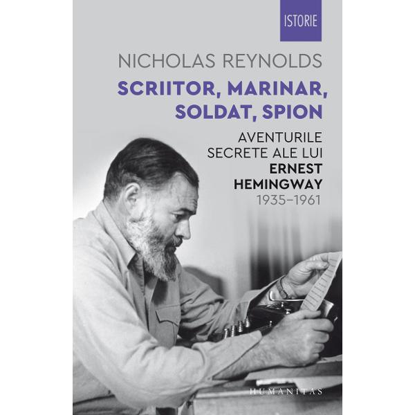 """""""Nicholas Reynolds fost curator al Muzeului CIA demonstreaz&259; c&259; lui Heminway îi era team&259; c&259; FBI-ul ar fi putut descoperi un secret murdar pe care-l ascunsese timp de dou&259;zeci de ani în anul 1940 acceptase s&259; colaboreze cu NKVD organul de represiune al Uniunii Sovietice"""" —Wall Street Journal""""Reynolds caut&259; printre umbre &537;i g&259;se&537;te un Hemingway necunoscut"""