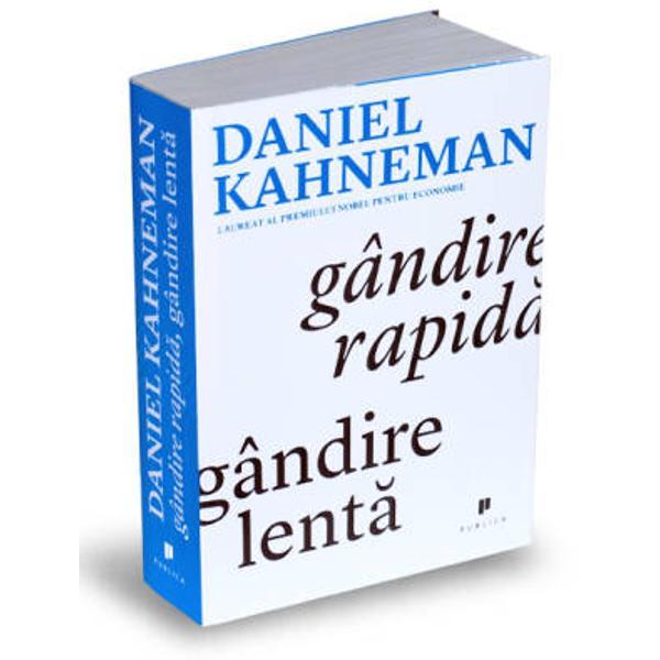 Daniel Kahneman ne poarta&131; intr-o ca&131;la&131;torie inovatoare prin ascunzisurile mintii si ne explica&131; cele doua&131; sisteme care conduc modul nostru de a gandi Sistemul 1 este rapid intuitiv si emotional; Sistemul 2 este mai lent mai deliberativ si mai logic Kahneman prezinta&131; capacita&131;tile extraordinare   si deopotriva&131; erorile si biasurile   gandirii rapide si dezva&131;luie influenta omniprezenta&131; a impresiilor intuitive asupra gandurilor si
