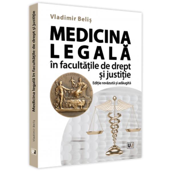 """Medicina legal&259; este o specialitate medical&259; a c&259;rei &537;tiin&539;&259; este pus&259; în slujba justi&539;iei ori de câte ori pentru l&259;murirea unei cauze judiciare sunt necesare cuno&537;tin&539;e medico-biologiceAstfel medicina legal&259; face leg&259;tura între gândirea medical&259; &537;i cea juridic&259; mergând pân&259; la a afirma c&259; """"f&259;r&259; medicin&259; n-ar putea"""