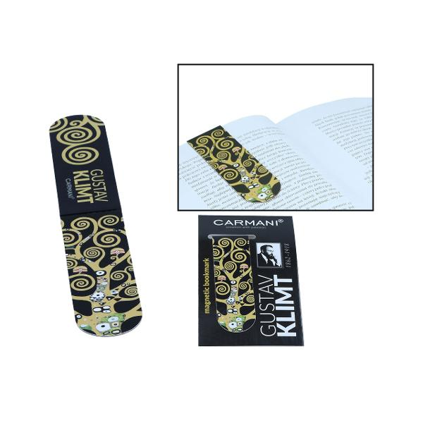 Semn carte magnetic Klimt pomul vietii 30x100mm 0134003