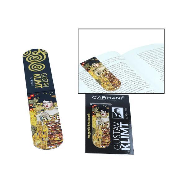 Semn carte magnetic Klimt Adele 30x100mm 0134002