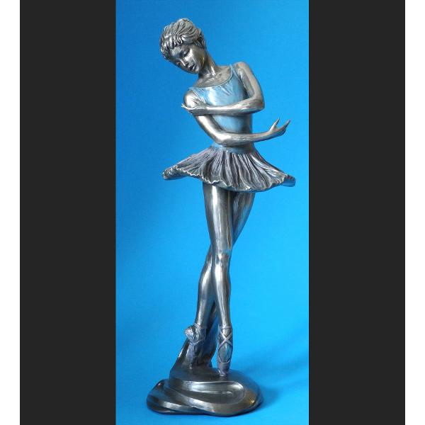 Statueta polystone balerina 28cm WU70317