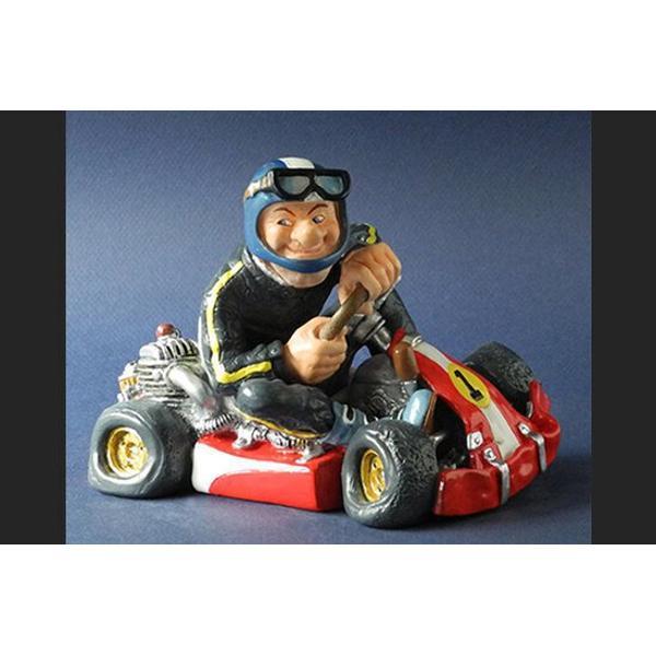 Atatueta polystone go kart racer 13cm PRO45