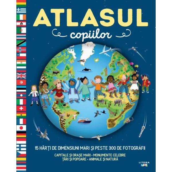 Un atlas geografic care te poart&259; într-o c&259;l&259;torie captivant&259; în jurul lumii &537;i î&355;i r&259;spunde la toate întreb&259;rile Descoper&259; peisaje animale &537;i înva&355;&259; despre via&355;a cotidian&259; &537;i activit&259;&355;ile oamenilor din diverse p&259;r&355;i ale globului