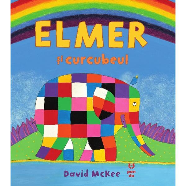 """Curcubeul &537;i-a pierdut culorile iar asta îl întristeaz&259; pe Elmer Vrea s&259; fie de ajutor dar ce se va întâmpl&259; cu el dac&259; îi d&259; curcubeului culorile sale Le va pierde pentru totdeaunaO poveste înduio&537;&259;toarea despre generozitate &537;i bun&259;tate""""Una dintre c&259;rticelele preferate ale copiilor între 2 &537;i 5 ani The Sunday Times"""