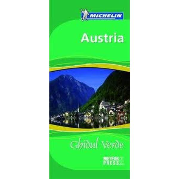 Ghidul Verde Austria este structurat in trei sectiuni principale din care veti afla- Cum sa va organizati calatoria – informatii practice pentru a va pregati si a profita cat mai bine de zilele petrecute la destinatie- Prezentarea unor tematici destinate imbogatirii impresiilor de voiaj – principalele repere geografice istorice si