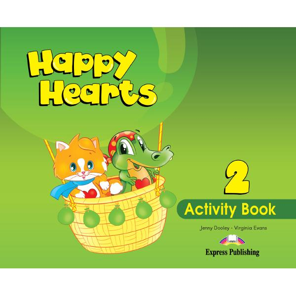 Happy Hearts Activity Book 2