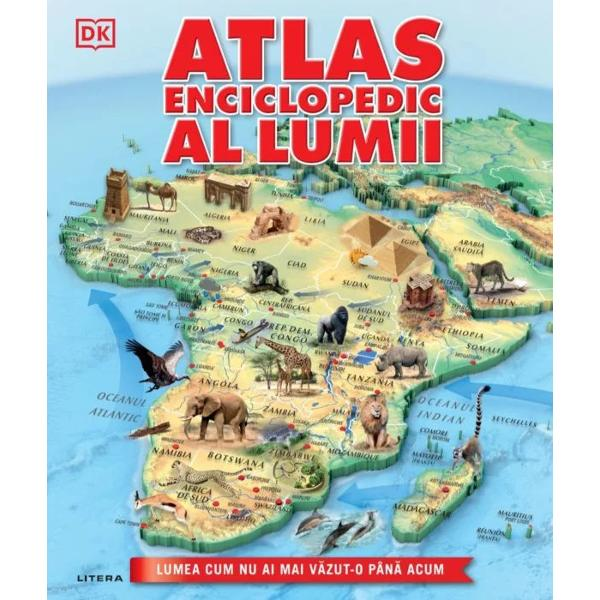 De la vârfurile seme&539;e ale Mun&539;ilor Himalaya &537;i p&259;durile tropicale din Africa pân&259; la cl&259;dirile antice din Europa &537;i megaora&537;ele din AsiaAtlasul enciclopedic al lumiiaduce lumea la via&539;&259; cu ajutorul unor h&259;r&539;i spectaculoaseUnde este cel mai c&259;lduros loc de pe planet&259;Care este cea mai populat&259; &539;ar&259; de pe P&259;mântUnde po&539;i g&259;si