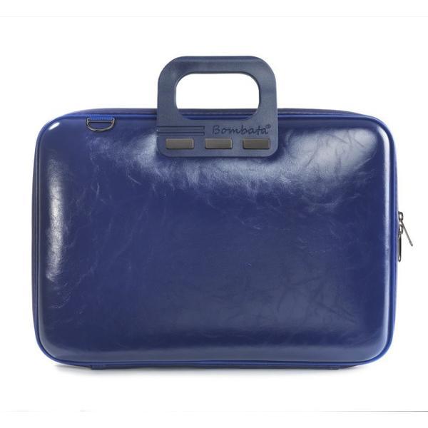 Geanta lux business laptop 156 in Evolution-Albastru cobalteste ideala pentru persoanele care isi doresc o geanta de laptop utila spatioasa si frumoasa in acelasi timp Realizata din piele ecologica si avand o nuanta deosebita de albastru cobalt cu siguranta aceasta te va face sa te remarci Marginile elegante cromate dau acea nota de eleganta iar astfel iti vei putea completa tinutele tale preferateGeanta lux business laptop 156 in
