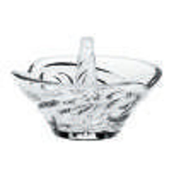 Bolul pentru bijuterii Nino este un element elegant care atrage toata atentia Se potriveste atat ambientelor clasice cat si moderne extravagante Bolul din Cristal de Bohemia cu design modern este potrivit pentru a fi oferit cadou unei persoane dragi