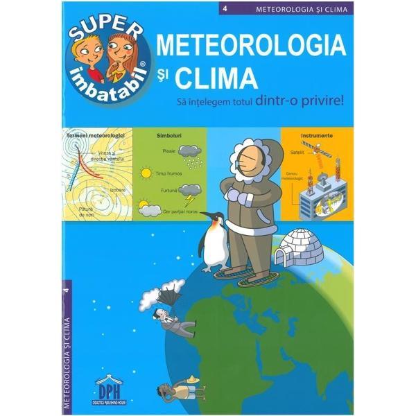 Dac&259; vrei s&259; &351;tii detalii despreanotimpurizonele climatice pe glob atmosfera terestra despre cum se formeaz&259; norii precipita&355;iile care este ciclul apei sau cum se formeaz&259; curcubeul ai g&259;sit cartea ce ofer&259; toate aceste r&259;spunsuri Cu aceast&259; enciclopedie în&355;elegem totul dintr-o privire