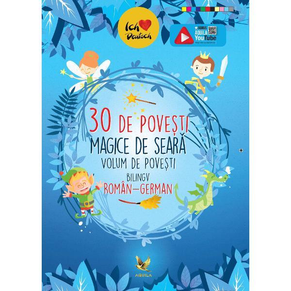 Un minunat volum de povesti bilingv roman-german care ii introduce pe copii in lumea povestilor dar ii ajuta si la aprofundarea limbii germane