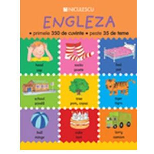 Aceast&259; carte se adreseaz&259; copiilor cu vârsta de 4-8 ani care încep s&259; înve&355;e limba englez&259;Cuprinde peste 350 de cuvinte uzuale din englez&259; organizate pe 35