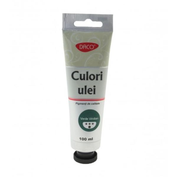 Culori ulei 100 mltubCulori ce se pot amesteca pigmenti de calitateCuloare Verde viridian