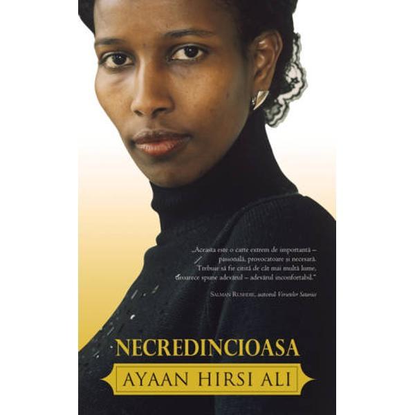 Ayaan Hirsi Ali este unul dintre cele mai controversate personaje din&160;Europa o &355;int&259; pentru terori&351;ti &351;i o eroin&259; a timpurilor noastre&160;Crescut&259; &238;ntro familie nomad&259; musulman&259; din Kenya autoarea a&160;supravie&355;uit r&259;zboiului civil mutil&259;rii genitale &351;i b&259;t&259;ilor crunte A&160;fost educat&259; de c&259;tre imami &238;n Kenya &351;i Arabia Saudit&259; c&259; dac&259; nu &238;&351;i&160;acoperea