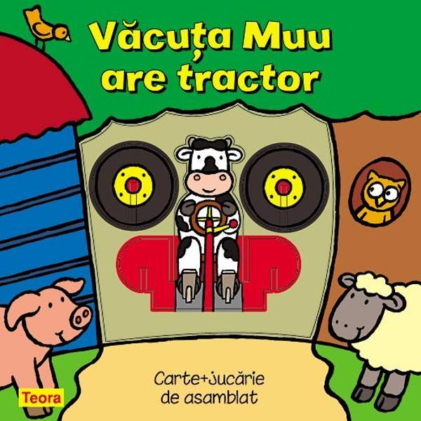 Vacuta Muu tractor -6856