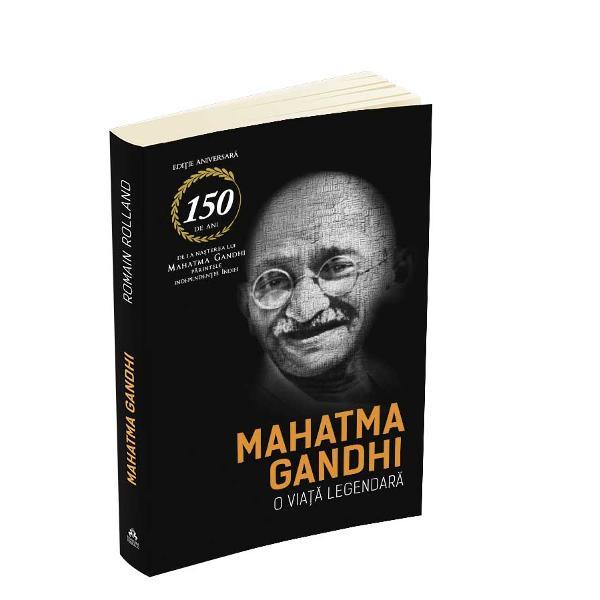 In acest volum biografic Romain Rolland aduce un tribut imaginii si luptei lui Mahatma Gandhi Omul care a renuntat la o carier&259; banoasa in avocatura va ajunge sa mobilizeze numeroasa populatie a Indiei impotriva xenofobiei si a nedreptatilor savârsite de Imperiul BritanicRolland descrie cu afectiune personalitatea lui Gandhi punând accent pe credinta acestuia in hinduism lipsita de fanatism si de orgoliu pe modestia lui pe contrastele pe care a reusit sa le