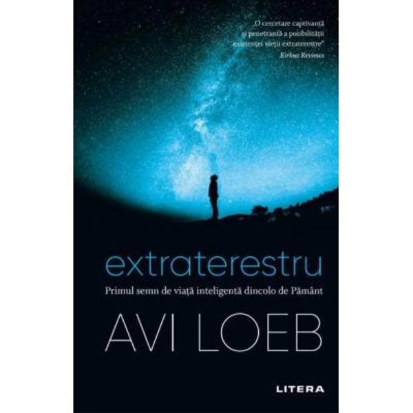 Descriere Extraterestru Primul semn de viata inteligenta dincolo de PamantÎn aceast&259; carte vizionar&259; argumentat&259; cu pasiune astrofizicianul Avi Loeb ne îndeamn&259; s&259; renun&539;&259;m la fantezia arogant&259; potrivit c&259;reia suntem singura form&259; de via&539;&259; con&537;tient&259; din univers Indiciile atent revizuite de Loeb sunt fascinante dar &537;i mai mult atrag argumentele sale cu privire la ce ar putea s&259; ne