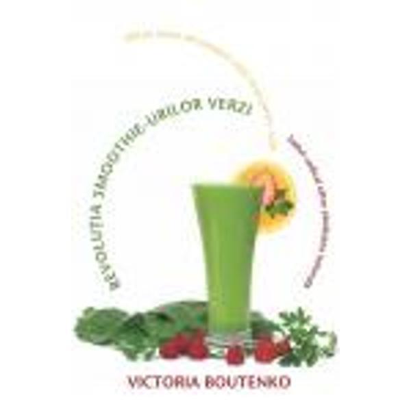 Pionier al alimenta&355;iei bazate pe crudit&259;&355;i Victoria Boutenko te scute&351;te de povara de a-&355;i mânca verde&355;urile cu ajutorul acestei solu&355;ii simple &351;i eficiente